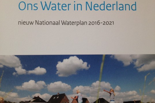 Brochure Ons Water in Nederland